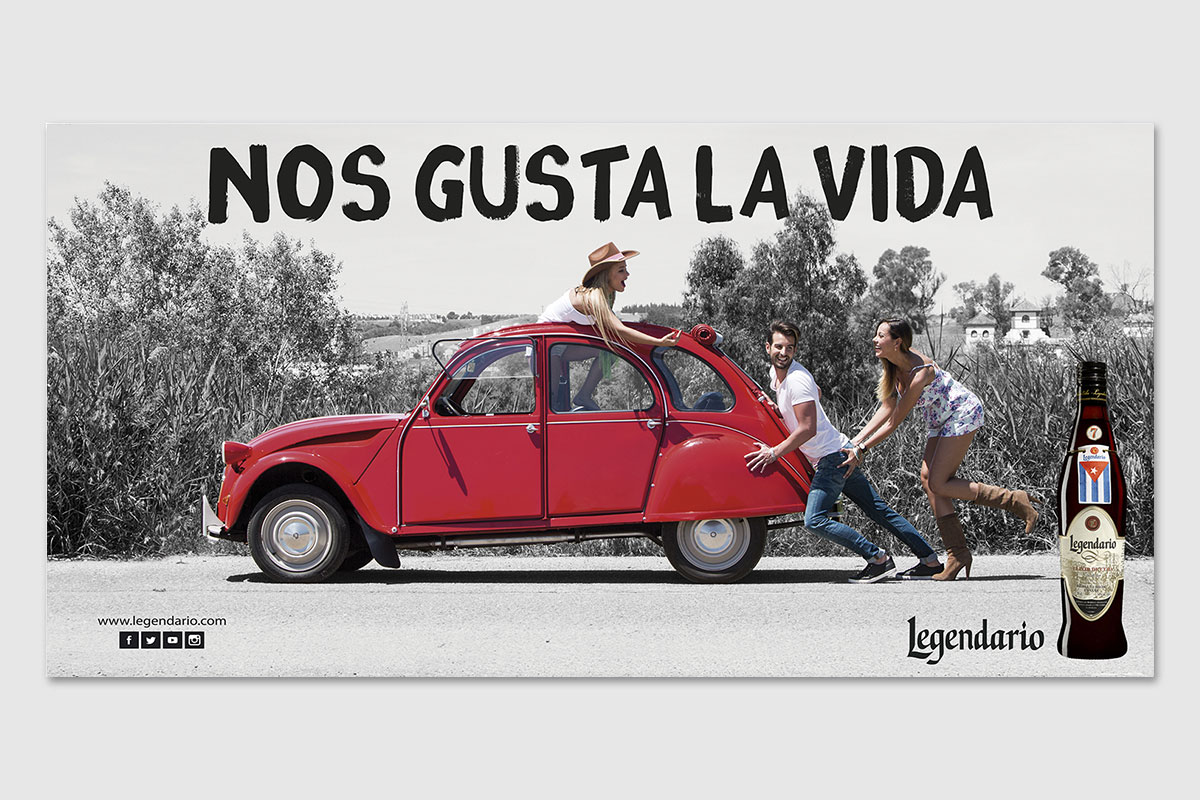 RON LEGENDARIO, CAMPAÑA GLOBAL 2